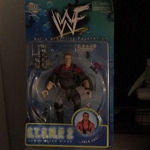 New Owen Hart WWF action figure 1998 stomp 2